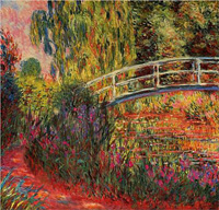 Monet - Japanese Bridge